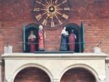 Grający zegar w Collegium Maius