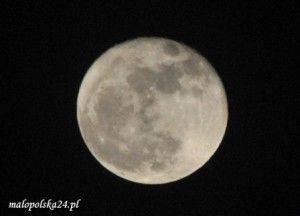 księżyc srebrny glob