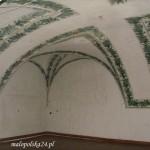 Sklepienie w Sali Paprociowej.