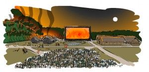inauguracja skansen Karpacka Troja