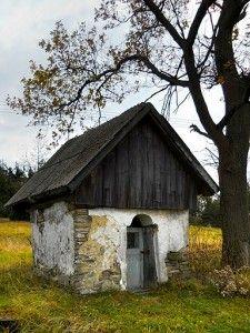 Kapliczka Gibasy Beskid Mały
