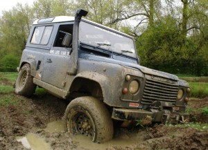 Landrover off-road