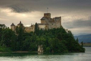 Miejsce pierwsze: Zamek w Niedzicy.