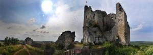 Wyróżnienie: Zdjęcie panoramiczne zamku w Mirowie.