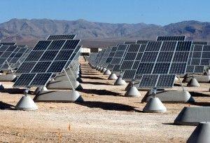 Elektrownia słoneczna w bazie lotniczej w Nellis USA