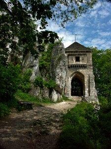 Ruiny zamku w Ojcowie Małopolska