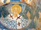 Święty Mikołaj w Monasterze Terapontowskim w Rosji.