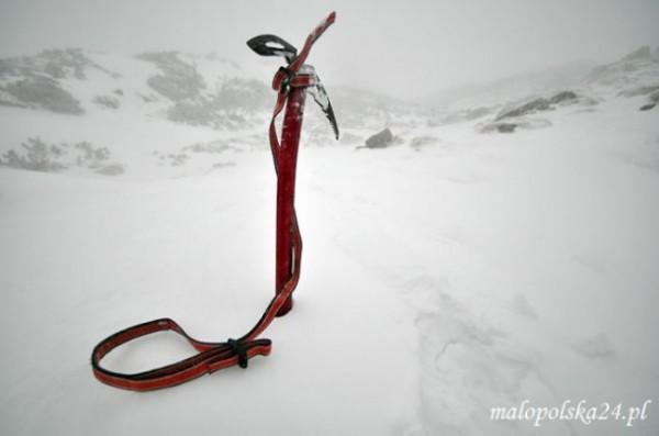 Giewont zimą - Tatry, Małopolska