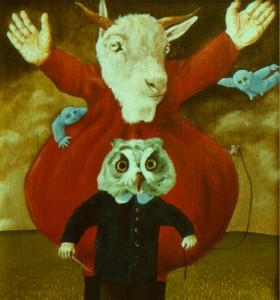 obraz Marzenie z roku 1989 autorstwa Jana Zielińskiego