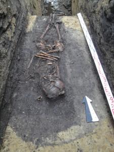 Sanok grób na ulicy Sobieskiego