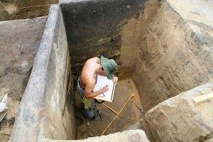 Wilczyce - badania archeologiczne