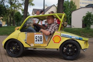 Prototyp energooszczędnego auta. Politechnika Lubelska.