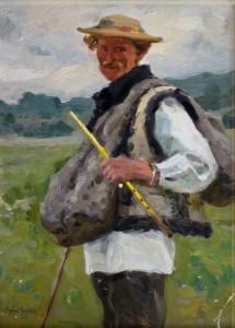 Hucuł z piszczałką - Władysław Jarocki, fot. A. Grzybowski, L. Kostuś - Muzeum Żup Krakowskich Wieliczka