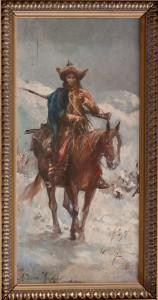 Jeździec tatarski - Alfred Wierusz-Kowalski, fot. A. Grzybowski, L. Kostuś - Muzeum Żup Krakowskich Wieliczka