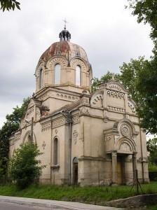 Krzywcza. Stara cerkiew.