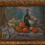 Martwa natura z jabłkami i wazą - Zygmunt Waliszewski, fot. A. Grzybowski, L. Kostuś - Muzeum Żup Krakowskich Wieliczka