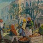 Przekupki na rynku - Erno Erb, fot. A. Grzybowski, L. Kostuś - Muzeum Żup Krakowskich Wieliczka