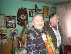 Antoni Mazur z Leszkiem Macakiem.