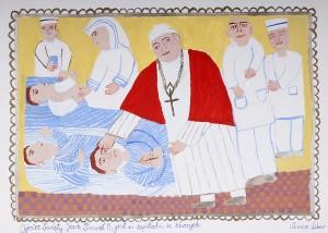 Anna Liber - Ojciec Święty Jan Paweł II jest w szpitalu u chorych