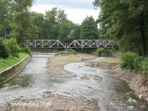 Most kolejowy na rzece Wieprzówce