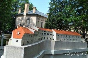 Żywiecki Park Miniatur, Pałac Habsburgów w Cieszynie