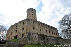 Ruiny zamku Lipowiec