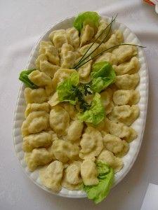 Pilzneński Festiwal Pierogów pierogi z kiszonej kapusty z serem