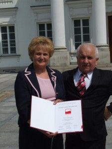Wanda i Stanisław Jarosz.