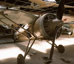 Jedyny zachowany PZL P.11c. Foto: Szymon Wlazłowski, Creative Commons.