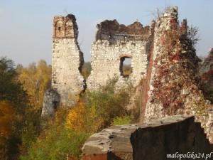 Baszta artyleryjska Grunwaldzka, Tenczyn