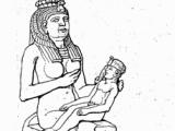 Izyda w mitologii egipskiej była boginią płodności i opiekunką rodzin. Później utożsamiano ją z grecką Demeter. Jej świętym zwierzęciem była krowa.