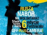 Zostań wolontariuszem festiwalu Off Plus Camera