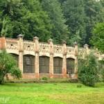 Zamek w Suchej Beskidzkiej,oranzeria