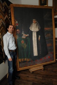 portret Agnieszki Tęczyńskiej-Firlejowej