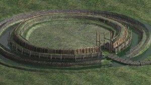 Rekonstrukcje 3D grodziska w Żmijowiskach, opracował Piotr Wroniecki. Render rekonstrukcji 3D wykonał Jakub Zakrzewski