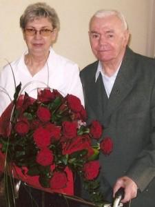 Ewa i Wojciech Drewniakowie.