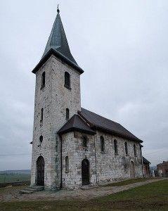 Kościół św. Jakupa Apostoła w Gieble. Foto: Piotr Spialek, Wikipedia.