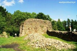 zamek w Lanckoronie