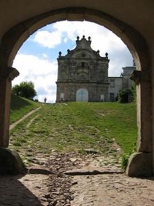 Klasztor na Świętym Krzyżu.