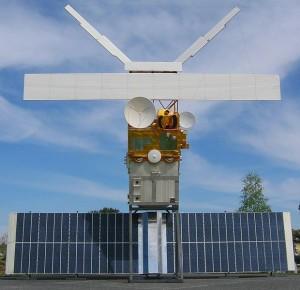Makieta ERS 2 – sztucznego satelity Ziemi
