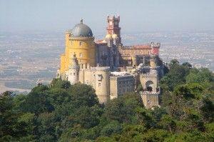 Pałac Pena w Sintrze, Portugalia.