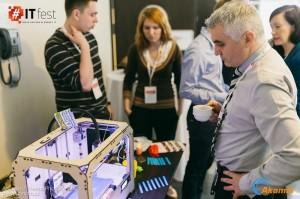 Drukarka 3D na IT Fest.