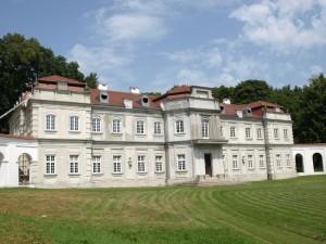 Pałac w Narolu.