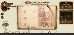 Duma Szlachecka - jeden z ekranów gry.