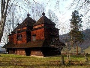 Cerkiew św. Michała Archanioła w Smolniku. Foto: Wikipedia.