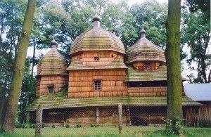 Cerkiew Narodzenia Przenajświętszej Bogurodzicy w Chotyńcu. Foto: Wikipedia.