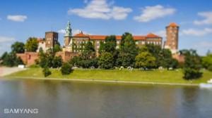time-kapse Kraków