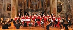Koncert Inauguracyjny - Akademicki Chór Organum oraz Zespół Instrumentalny Ricercar. II edycja Festiwalu z 2011 roku.