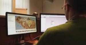 Regionalna Pracownia Digitalizacji. Prace nad modelem 3D.