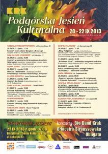 Podgorska Jesien Kulturalna 2013